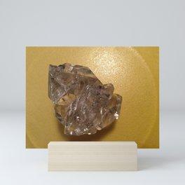 Quartz crystal from New York Mini Art Print