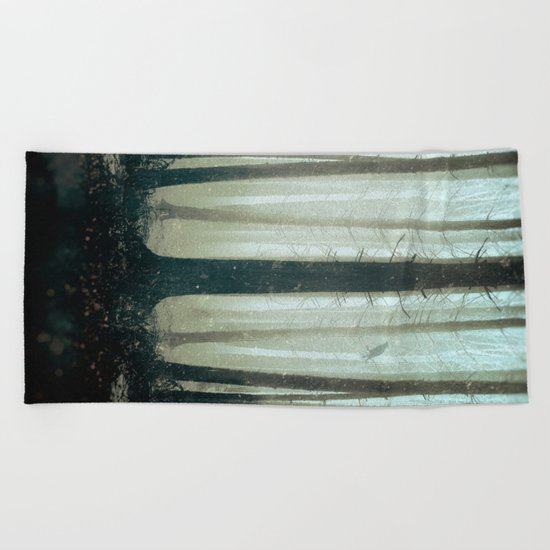 Silent Dream Beach Towel
