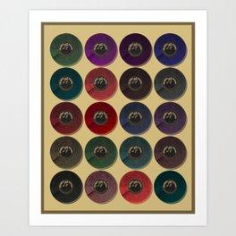 Recordalings 1 Art Print