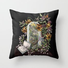 Atlantic Seaside Still Life Throw Pillow