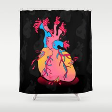 heartburst Shower Curtain