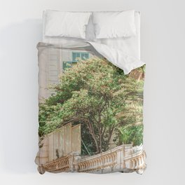 Charming Cannes City Streets, Cote D'Azur, French Riviera Summer Travel Print, Exotic France City Comforters