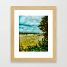 The River Framed Art Print