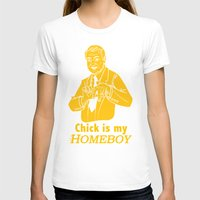 lakers T-shirts featuring Chick is my Homeboy! by GOGILAND