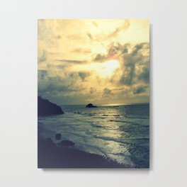 View From the Cliffs Metal Print