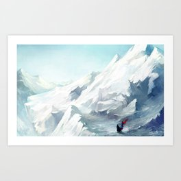 Adventure with you Art Print