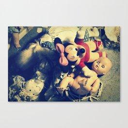 Doll Heap Canvas Print