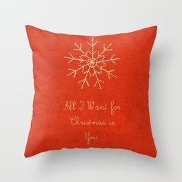 For Christmas! Throw Pillow