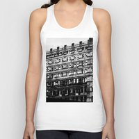 building Tank Tops featuring Building by Tristan Tait