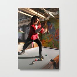 I want to be the entertainer Metal Print