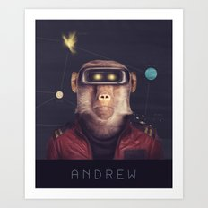 Star Team - Andrew Art Print