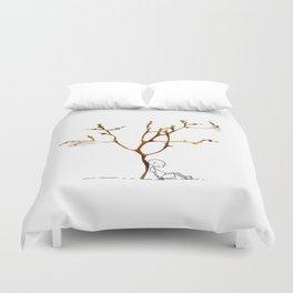 Grape tree Duvet Cover