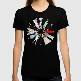 Audrey Hepburn Circle Fashion T-shirt