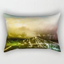 Rainbow Mountain Rectangular Pillow