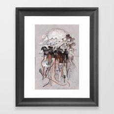 The Unfurling Dreamer Framed Art Print