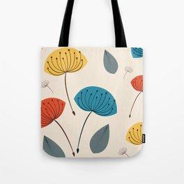 Dandelions in the wind Tote Bag