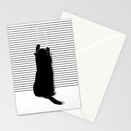 Cat Scratch Stationery Cards
