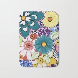 Bloomin' Flowers Bath Mat
