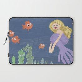 Girl in the Sea Laptop Sleeve