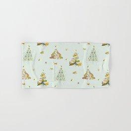 Critters Creating Christmas Trees Hand & Bath Towel