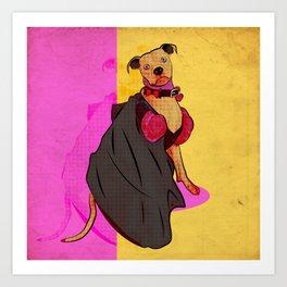 Lady Gem Art Print