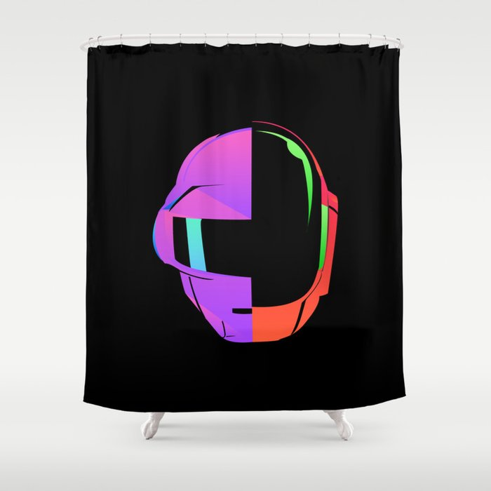 Daft Punk IOS 7 Shower Curtain By Socialcreativity