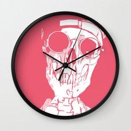 California Grunge - Inverted Wall Clock