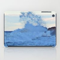 geology iPad Cases featuring Exploding Surf  by DanByTheSea