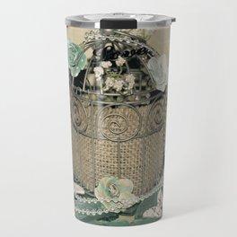 VintageAnd Burlap Travel Mug