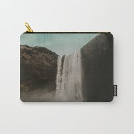 Iceland Waterfall x Skógafoss Carry-All Pouch