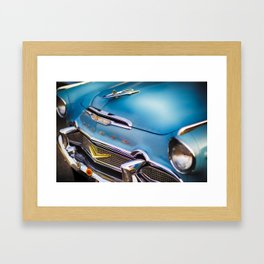 Ready for a Saturday Night Cruise in My Desoto Framed Art Print