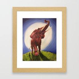 Tusk Loose Framed Art Print