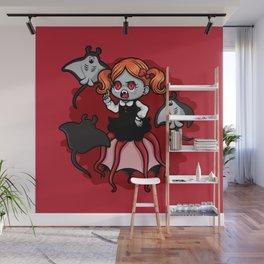 Vampire Baby Squid Wall Mural