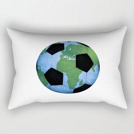 The World Of Soccer Rectangular Pillow