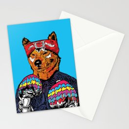 Shiba - The Hustler Stationery Cards