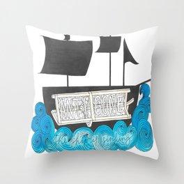 Antigone Throw Pillow