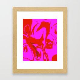 Love or Lust Framed Art Print