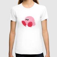 kirby T-shirts featuring Kirby Splatter ~ ☆ by Kiera Marie