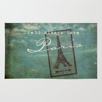 casablanca Area & Throw Rugs featuring Paris by Sybille Sterk