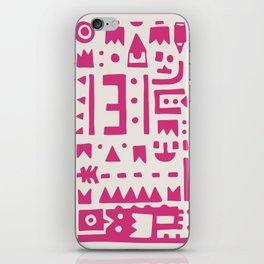 Pattern v8 iPhone Skin