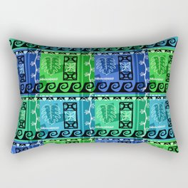 Hawaiian Pattern #1 - marine colors! Rectangular Pillow