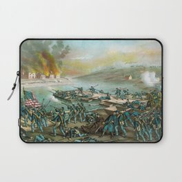 The Battle of Fredericksburg - Civil War Laptop Sleeve