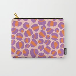 Pink Leopard Party Carry-All Pouch