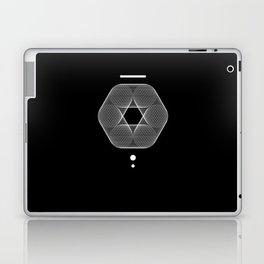 Mesh Geometry III Black Laptop & iPad Skin