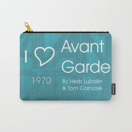 I <3 Avant Garde Carry-All Pouch