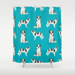 Border Collie dog breed gifts collies herding dogs pet friendly Shower Curtain