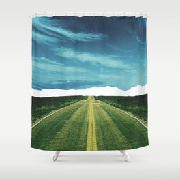 Lost Horizon2 Shower Curtain
