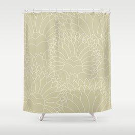Minimalist Echidna Shower Curtain