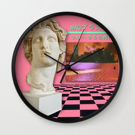 Macintosh Plus – Floral Shoppe Wall Clock