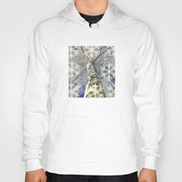 john snow Hoodies featuring Snow worlds by Tanja Riedel